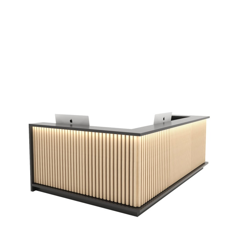 Piza Reception Desk